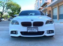 จองให้ทัน BMW 525D M SPORT 2.0 F10 ปี 2014จด 2015 AUTO สีขาว รถบ้านมือเดียว