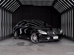 Benz E300 AMG Bluetech Hybrid ปี 2013 สภาพสวยมาก ไมล์แท้ ไม่เคยชน