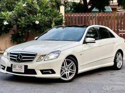 2012 Mercedes-Benz E250 CGI AMG W212 ไมล์ 89,xxx km. ประวัติครบ