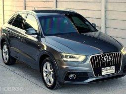 "Audi Q3 2.0TFSI Quattro S-line ปี13"" สภาพเยี่ยม"