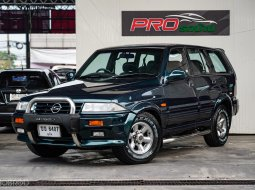1998 Ssangyong Musso 3.2 500 Limited 4WD SUV