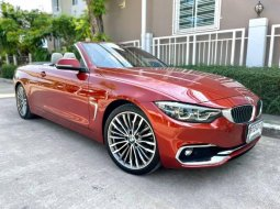 รีบจองด่วน BMW 430i Convertible ปี 2018 มือเดียวออกศูนย์สวยจัด