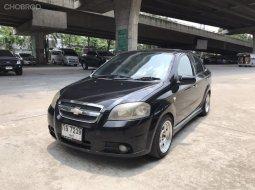 2008 CHEVROLET AVEO 1.4 SS สีดำ รถสภาพดี แต่งสวย น่าใช้ขายถูก