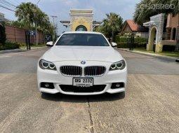 #BMW #520D M Sport ปี 15 จด 17 สีขาว