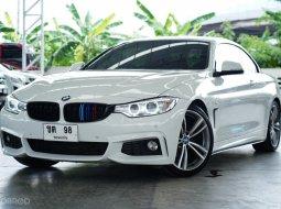 2015 BMW 420I CABIO RHD A/T  สีขาว