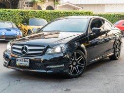 จองด่วน Benz C Coupe 1.6 AMG c180 ปี 2015 สีดำ ตัวออฟชั่นพิเศษมีเพียงไม่่กี่คันในไทย