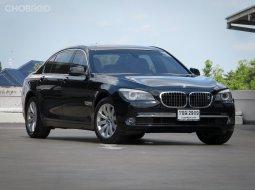 2010 BMW 730Ld รถมือเดียว ฝาท้ายไฟฟ้า ประตูดูด หลังคา Moonroof จอ 3 จอ