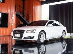 Audi A8L hybrid ปี 2013 เกียร์ออโต้ 8 speed + paddle shift,