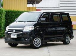 Suzuki APV เกียร์อัตโนมัติ ปี2008 รถครอบครัว รถมือแรก ไมล์น้อย ไม่เคยติดแก๊ส ไม่เคยมีอุบัติเหตุ