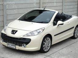 จองด่วน Peugeot 207CC ปี07 ท๊อปออฟชั่น วิ่ง4x,xxxโลแท้