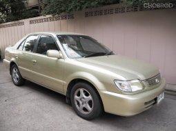 Toyota Soluna 1.5 Gli 2002 บรอนซ์ทอง สภาพดีมาก ไมล์น้อย