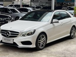 Mercedes #Benz #E200 CGI 2.0 #W212 SALOON AMG ปี 2015