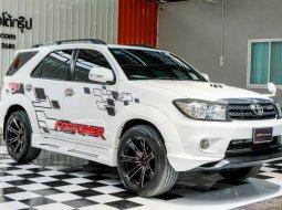 👉เครื่องแน่น รุ่น TOP ขับเคลื่อน 4 ล้อ ล้อแต่งสวยๆ ✨ Toyota Fortuner 3.0 TRD Sportivo 4WD ปี2010 SUV
