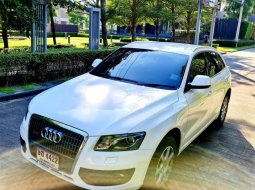 จองให้ทัน Audi Q5 2.0T Quattro เครื่องยนต์ เบนซิล สีขาว ปี 2009รถมือเดียว