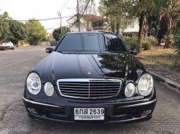 ขายรถ Mercedes-Benz E200 Kompressor Avantgarde ปี2004 รถเก๋ง 4 ประตู