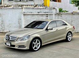 2012 Mercedes-Benz E250 CDI AMG รถเก๋ง 4 ประตู