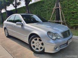 Benz C220 CDI Elegance ปี 2005 สีบรอนซ์เงิน เครื่องดีเซล