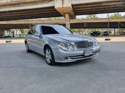 ไมล์แสนสอง สวยพร้อมใช้  เครื่องยนต์เกียร์ช่วงดี 2007 Benz E220 CDI 2.2 W211 แค่ 469,000 บาท
