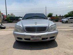 จองด่วนช้าอด Mercedes-Benz S280 L 2003 รถสวยพร้อมใช้ หรูหราราคาถูกมาก