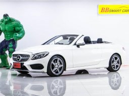 1S-88 BENZ C300 2.0 CABRIOLET AMG DYNAMIC เกียร์ AT ปี 2018