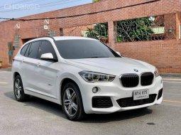 2016 BMW X1, 2.0d M SPORT โฉม F48 สีขาว เกียร์ออโต้ เครื่องยนต์ดีเซล 4 สูบ TwinPower Turbo 2000cc