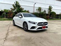 จองด่วน Mercedes-Benz A 200 AMG Dynamic สีขาว ปี2021 ป้ายแดงวิ่ง1พันโล