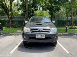 #รถบ้าน#มือเดียว#สดไม่รับผ่อน 🚘 2007 TOYOTA FORTUNER 3.0V  4WD A/T สีดำ