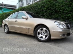 Benz E200 Elegance 2004 ประวัติครบ มือเดียว ไม่แก๊ส สภาพสมบูรณ์ พร้อมใช้