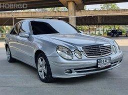 2007 Benz E220 CDi W211 แค่ 469,000 บาท ดีเซศล สวยพร้อมใช้ เครื่องยนต์เกียร์ช่วงล่างดี แอร์เย็นฉ่ำ ✅ขายโดยโชว์รูม MG มาตราฐาน ✅รับซื้อรับเทิร์นร