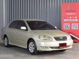2004 Toyota Corolla Altis 1.6 E รถเก๋ง 4 ประตู รถบ้านมือเดียว