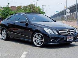 2012 Mercedes-Benz E250 2.0 AMG Plus รถเก๋ง 2 ประตู รถบ้านมือเดียว