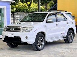 ฟรีดาวน์ ปี 10 Toyota Fortuner 3.0 TRD Sportivo ชุดแต่ง TRD รอบคัน