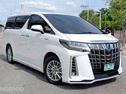 2020 Toyota ALPHARD 2.5 HYBRID SR C-Package E-Four 4WD รถตู้/MPV รถบ้านมือเดียว