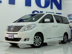 2012 Toyota ALPHARD 2.4 HYBRID รถตู้/MPV
