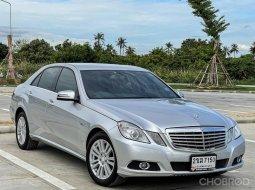จองให้ทัน BENZ E250 CDI W212 2010 สีเทา เครื่องยนต์ดีเซลล้วน