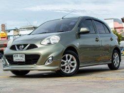 2015 Nissan MARCH รถเก๋ง 5 ประตู รถบ้านมือเดียว