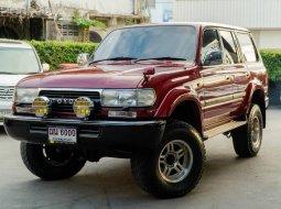 จองให้ทัน Toyota Land Cruiser VX80 4.2 4WD Diesel ตัวรถปี 91 จดทะเบียนปี 95 (rare item มากครับ)
