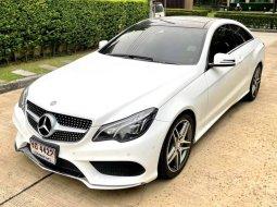 จองให้ทัน Benz E200 AMG Dynamic Coupe 2.0cc สีขาว ปี 2013 รถสวยจัด