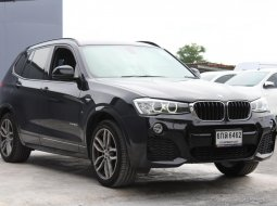 2017 BMW X3  xDrive20D M Sport (เลขไมล์ 105400 Km)  รถสวย ไมล์แท้ เจ้าของขายเอง