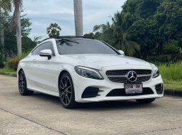 2019 Mercedes-Benz C200 Coupe 1.5 AMG Dynamic วารันตีศูนย์ถึงปี 2022