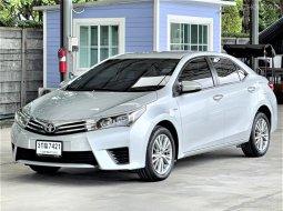 ฟรีดาวน์ รถเก๋ง Toyota Altis 1.6G รุ่น Top สุด รถสวยเดิมๆไม่มีชนรับประกัน รถยนต์มือสองคุณภาพดี