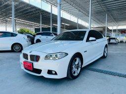 BMW 520d 2.0 M Sport Lci ปี 2016 รุ่นพิเศษ M-Sport ขาวสวยเดิมทั้งคัน พร้อมรับประกัน