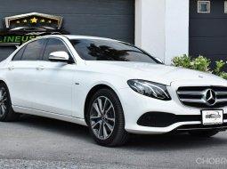 Benz E350e Avantgarde Plug in 2018  วารันตีศูนย์ Benz ถึง 06/2021 วารันตีแบตเตอรี่ ไฮบริด 10 ปี