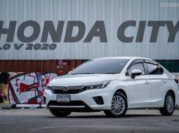 2020 Honda CITY 1.0 SV รถเก๋ง 4 ประตู รถสภาพดี มีประกัน
