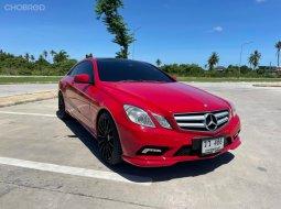 ขายรถ Mercedes-Benz E250 CGI ปี 2011 สีแดง