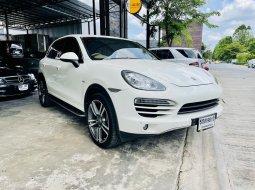 Porsche cayenne ดีเซล 958 ปี 2011 ไมล์น้อย รถมือสอง ฟลูออฟชั้น