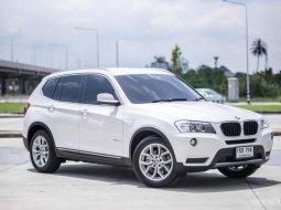 BMW X3 20d HighLine ปี 2013 สภาพสวยมาก ประวัติศูนย์ ไม่เคยเกิดอุบัติเหตุ ไมล์แท้ 100%