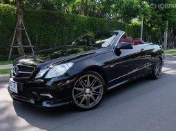 2011 Mercedes-Benz E250 AMG รถเปิดประทุน