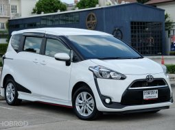 รถบ้าน รถยนต์มือสอง รถเก๋ง รถ7ที่นั่ง รถAPV รถอเนกประสงค์ รถครอบครัว Toyota Sienta 1.5G มือเดียว สภาพป้ายแดง เช็คศูนย์ตลอด