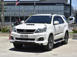 ขายรถมือสสอง 2014 Toyota Fortuner 3.0 TRD Sportivo 4WD SUV AT
